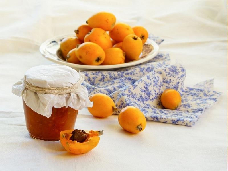 New Loquat Jam with apples photo