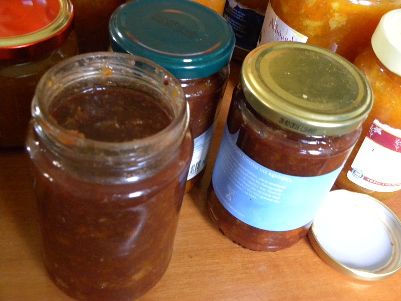 citrus marmalade with chocolate image