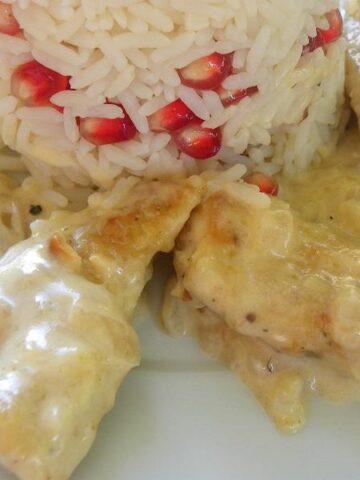 Thyme Chicken Fricassee